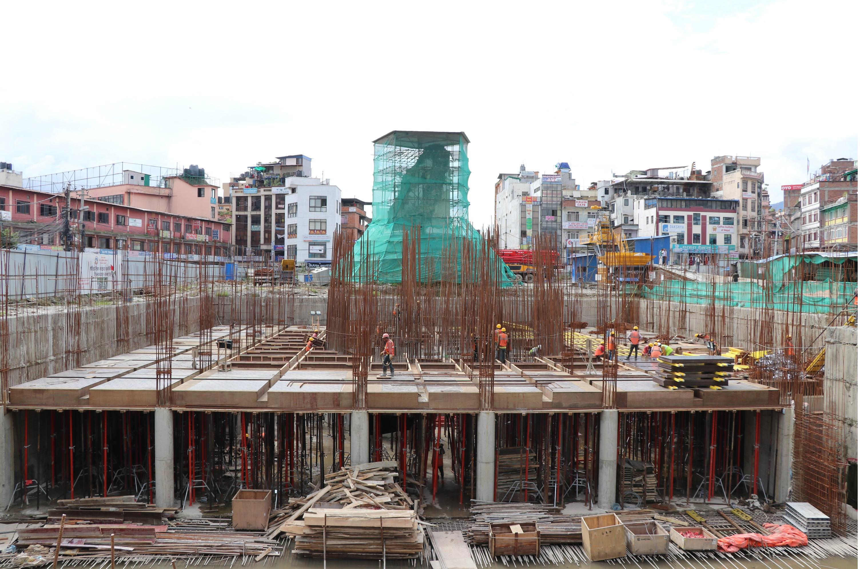 Construction of Darahara